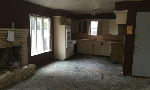 Kitchen Remodel - Before Picture